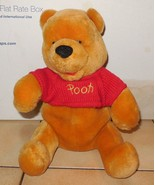 "Walt Disney World Winnie The Pooh 12"" plush toy #2 - $10.63"