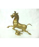 VINTAGE ANTIQUE CHINESE BRONZE MING TANG ? STYLE HORSE STATUE - $175.00