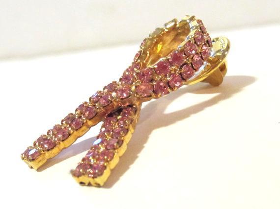 Vintage jewelry rhinestone pin