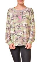Wildfox Womens Rosette Sommers WSV542 06X Sweatshirt Grey S - $95.31