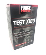 FORCE FACTOR TEST X180 PREMIUM 60 CAPSULES TESTOSTERONE BOOSTER exp 12/... - $17.00