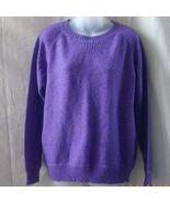New XL purple Joe sweater with long sleeves & r... - $11.25