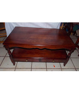 Mid Century Solid Cherry Coffee Table by Willett - $499.00