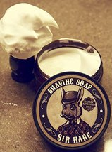 Premium Shaving Soap for Men By Sir Hare - Barbershop Fragrance - Shave Soap Tha image 5