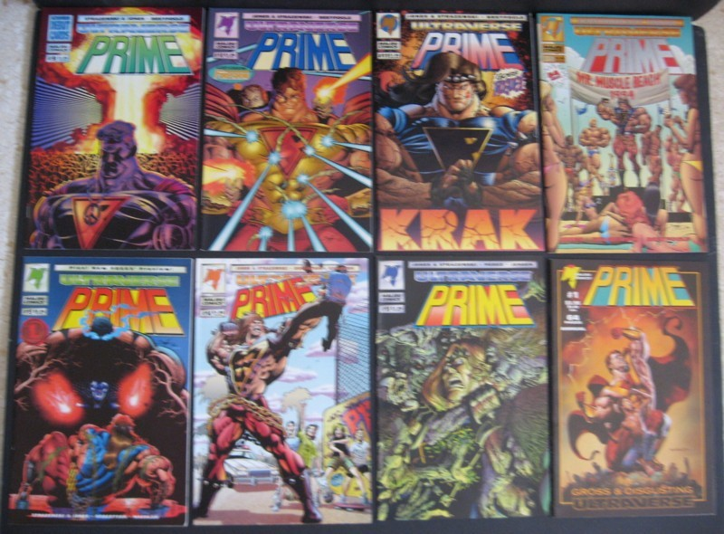 Primary image for Prime #1-15, Annual #1 Lot Malibu Ultraverse
