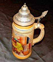 Stein with Lid West Germany AA20-2301 Vintage