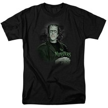The Munsters Herman t-shirt Fred Gwynne Retro 60's TV graphic tee NBC101 image 1