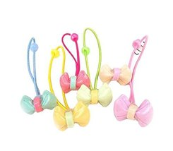 12 pieces Pretty Hair Rope Hair Band Accessories for Girls, Butterfly Knot