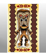 """ Strong and Happy Ku""   ( The Hawaiian Tiki God of Strength ) - $20.00"