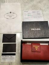 Authentic Prada medium saffiano leather wallet - $554.40