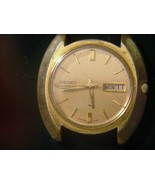 Vintage  Men's Seiko 17j Watch Japan Mvmt Day/date Working Use or Parts - $85.00