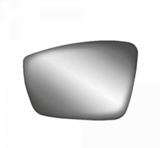 Left Driver Heated Mirror Glass w/Rear Back Plate for 12-17 Vw Passat 12-18 Beet - $43.51