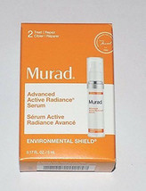 MURAD Advance Active Radiance SERUM Environmental Shield Travel Size NEW in BOX - $9.50