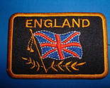 England Great Britain British UK Flag Patch Brand New