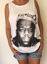Biggie Mens Tank Top cotton white Singlet Vest - $18.99