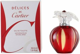 Delices De Cartier 1.6 oz / 50 ml Eau De Toilette spray for women - $157.08