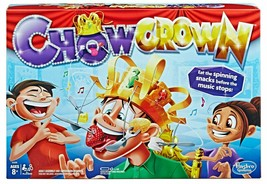 Chow Crown Musical Munch Game - Eat The Spinning Snacks Before Music Stops - $6.00