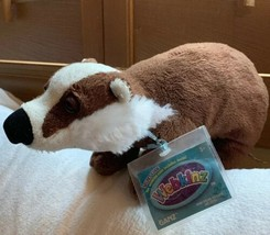 WEBKINZ BADGER.COMES WITH  CODE/TAG-NICE GIFT Pre-owned Plush Doll Toy - $18.70