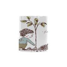 Sweety Love Store-Plant a Tree Coffee Mugs,White Heathly Ceramic Mugs,3.... - £12.73 GBP