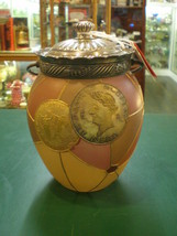 Mount Washington Royal Flemish Medallion Biscuit Cracker Jar - $2,223.05