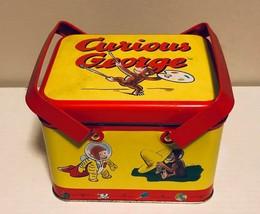 Curious George Picnic Tin - $10.88