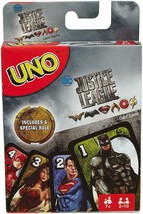 Mattel Justice League UNO Card Game Brand new sealed package Mattel Games Rare - $13.99