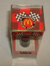 """Coke Coca-Cola McDonald's Mini Miniature 3.5"""" Soda Bottle Bobby Labonte #18 1999 image 4"""