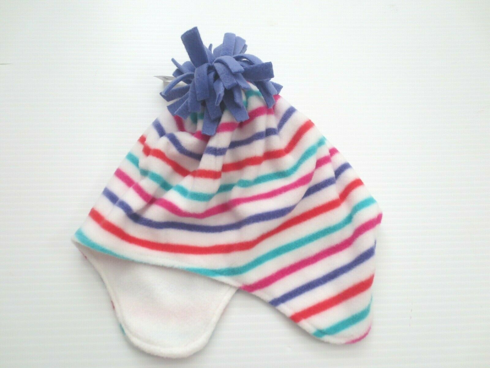 Primary image for GAP Kids Fleece Winter Hat Multicolor Stripe - Size L/XL - NWT