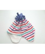 GAP Kids Fleece Winter Hat Multicolor Stripe - Size L/XL - NWT - £3.66 GBP