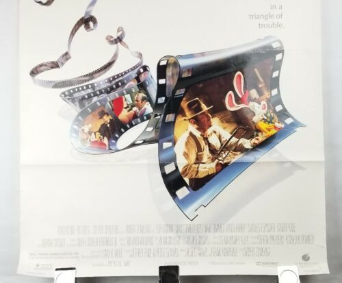 Who Framed Rodger Rabbit Movie Poster Single Sided Original 27x40 Shipped Rolled image 3