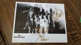 2018 SDCC MONSTER SQUAD PROMO PHOTO SIGNED AUTO BY ANDRE GOWER & RYAN LA... - $39.59