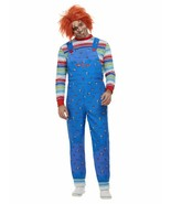 Chucky, Mens Halloween Fancy Dress Costume, XL - £34.49 GBP