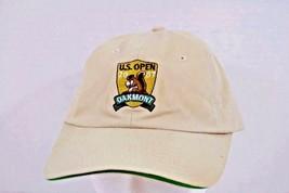 US Open Oakmont 2007 USGA Member Khaki Baseball Cap Adjustable Back - $17.99