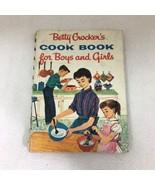 1957 Betty Crocker Cookbook For Boys & Girls 1st Ed Hardback Gloria Kamen - $36.14