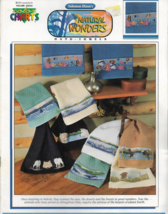 Color Charts Cross Stitch Pattern-Natural Wonders Hand Towels By Solomon... - $5.86