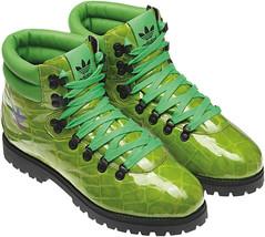 Adidas Men's Jeremy Scott Alligator print Hiking Boots Size 4.5 us G61083 - $133.62