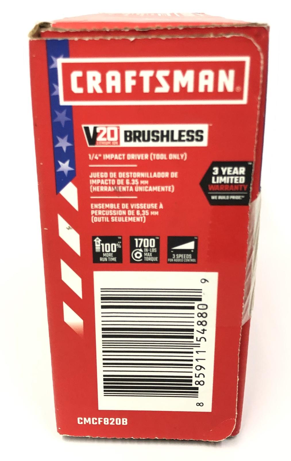 Craftsman Cordless Hand Tools Cmcf820b image 4