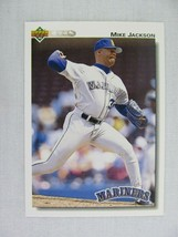 Mike Jackson Seattle Mariners 1992 Upper Deck Baseball Card 593 - $0.98