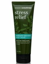 Bath & Body Works Aromatherapy Eucalyptus Spearmint Body Cream Stress Re... - $14.92