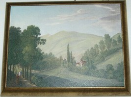 Astral Direct 5842 Tranquil Valley 1 and 2 Painting Set Melling Bronze Frame image 2