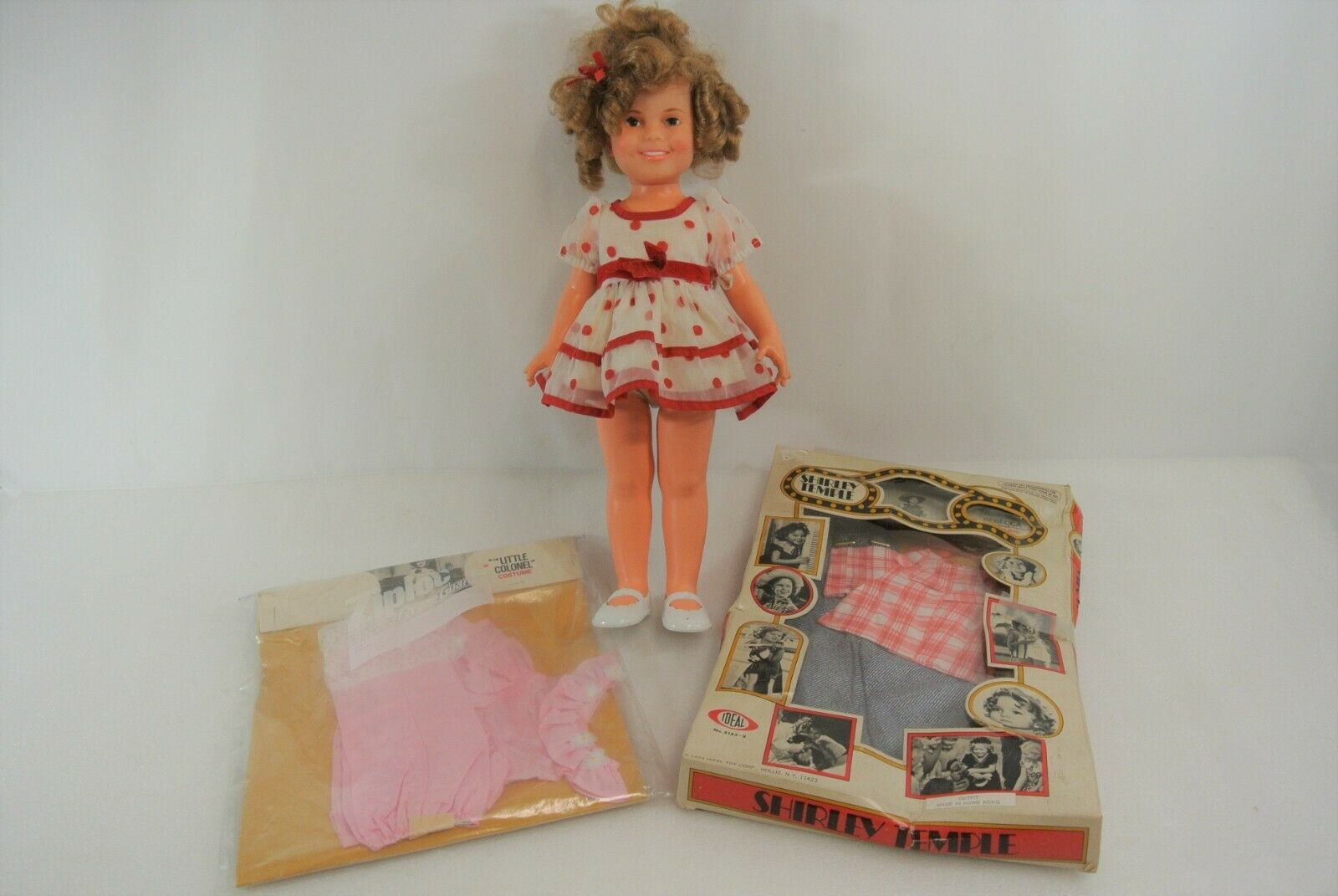 Primary image for Shirley Temple Vintage Doll & Costume Sets 1972 Ideal 2M-5634 USA Made Rebecca