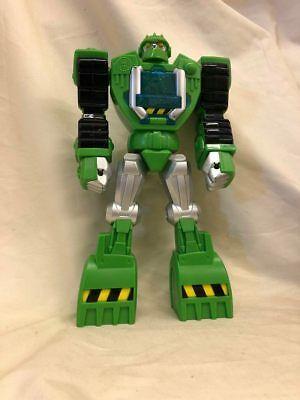 Action Figure Transformers rescue Bots Boulder Construction Hasbro 2013
