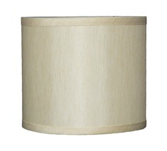 "Urbanest Faux Silk Drum Lampshade, 8"" x 8 inch x 7"", Spider Fitter, 6 colors - $24.99"