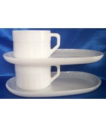 Federal snack sets milk glass two sets all1 thumbtall