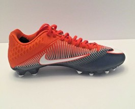 Nike Men's Vapor Speed 2 TD Mid Football Orange Blue Cleats Sz 14 NWT FR... - $24.28