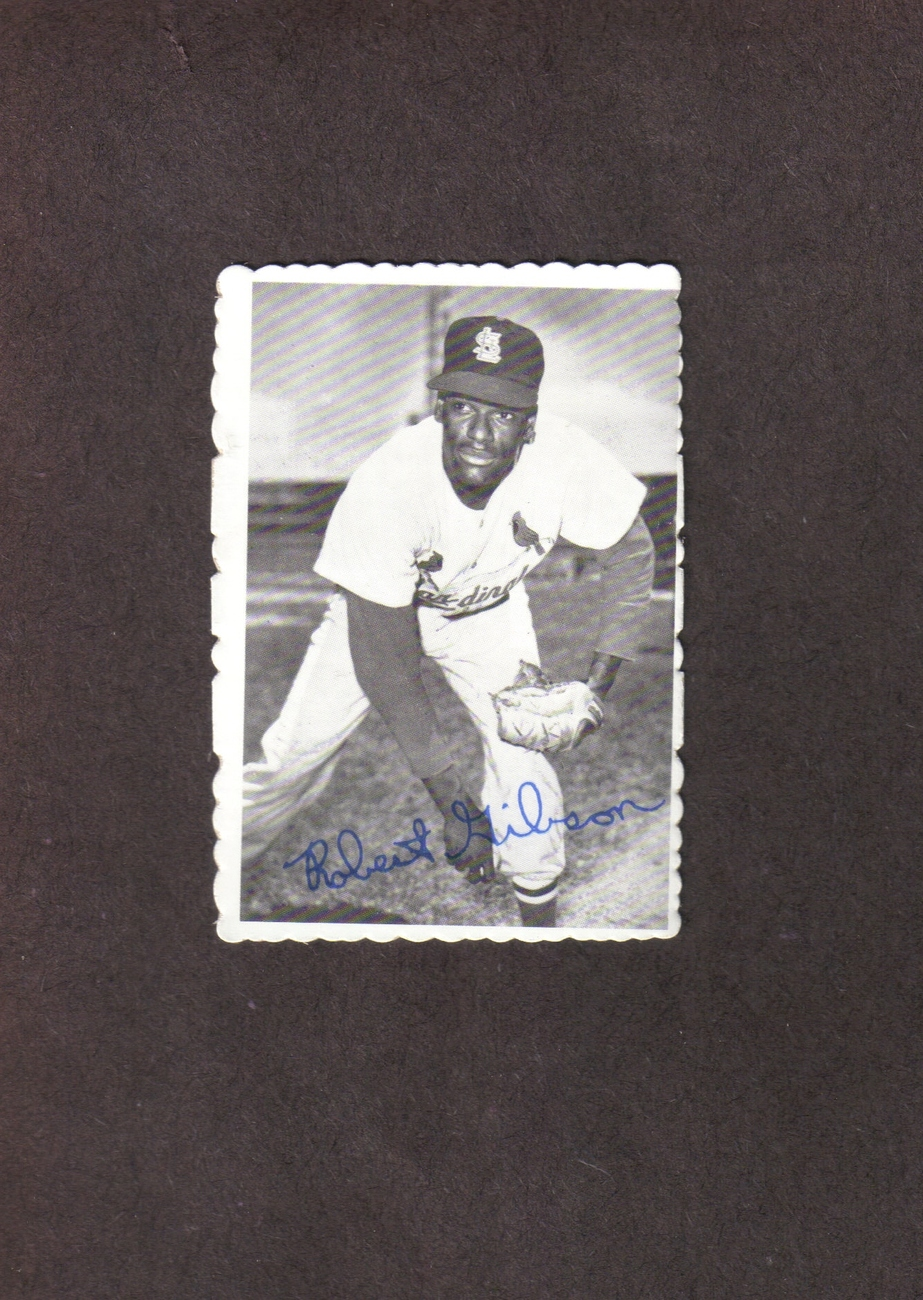 1969 Deckle Edge # 29 Bob Gibson St. Louis Cardinals