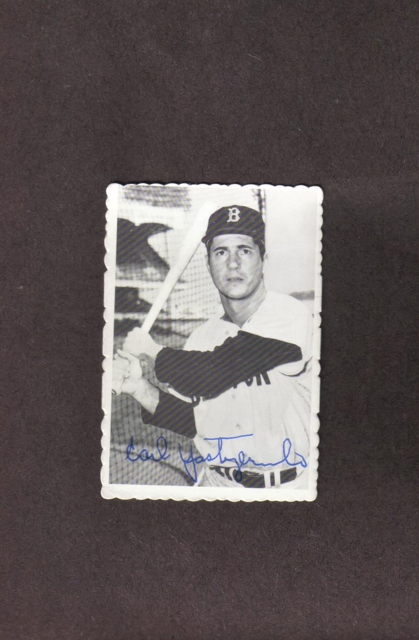 1969 Deckle Edge # 4 Carl Yaz Yastrzemski Boston Red Sox