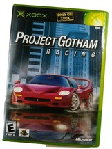 ✅ Project Gotham Racing (Microsoft Xbox, 2001) Black Label, Mint Disc, w... - $8.90
