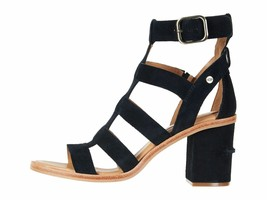 UGG Macayla Black Women's Strappy Block Heel Sandal 1090434 - $88.90