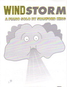 Windstorm Later Elementary Piano Solo Stanford King